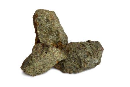 Natural samples of polymetallic ores. The main com...