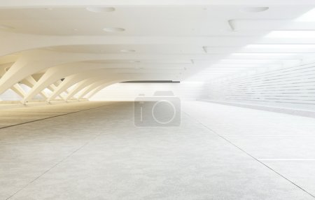 Photo pour Architecture moderne de la salle - image libre de droit