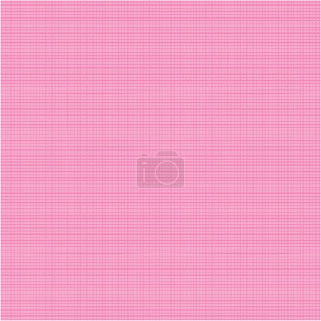Photo pour Texture tissu rose sans couture (vous voyez 4 tuiles). Les couleurs plates utilisées, les fils horizontaux et verticaux sont assortis avec précision à leurs extrémités . - image libre de droit