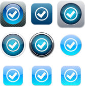 Mark blue app icons.