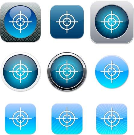 Sight blue app icons.