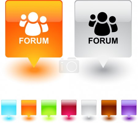 Forum square button.
