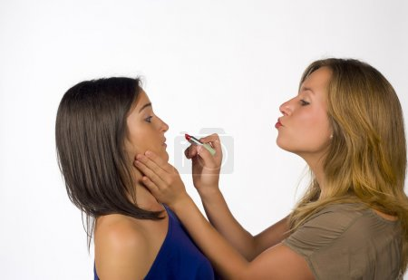 Forceful makeup