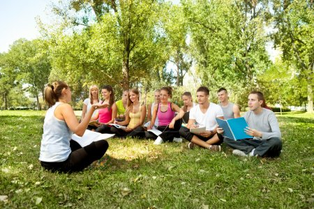 Lesson outdoor