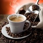Hot coffee...