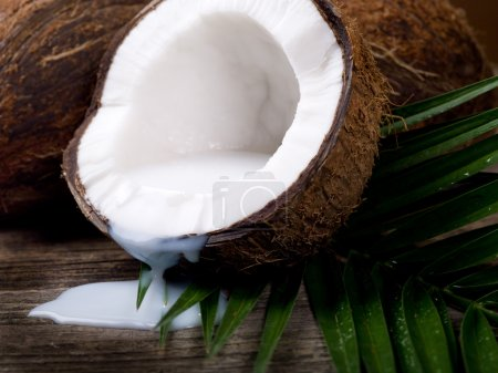 Walnut coconut milk