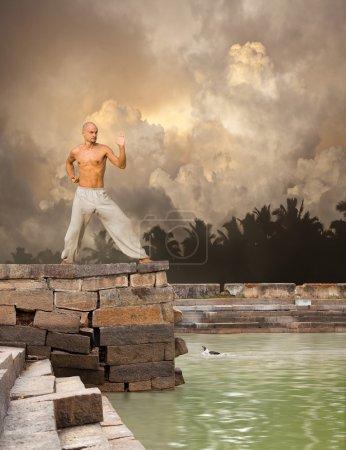 Photo pour Arts martiaux Tranquillité Contexte - image libre de droit