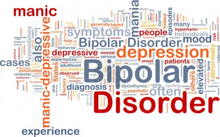 Photo for Background concept wordcloud illustration of bipolar disorder - Royalty Free Image
