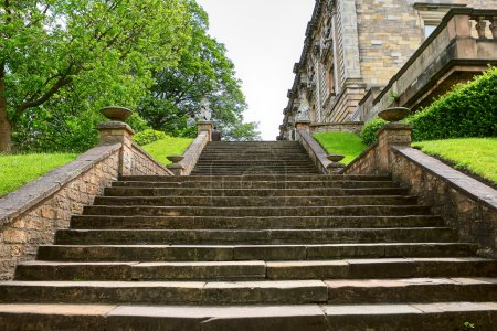Stairway to Nottingham castle