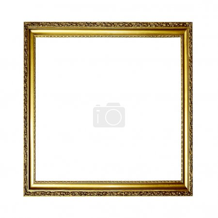 Photo for Gold frame - Royalty Free Image
