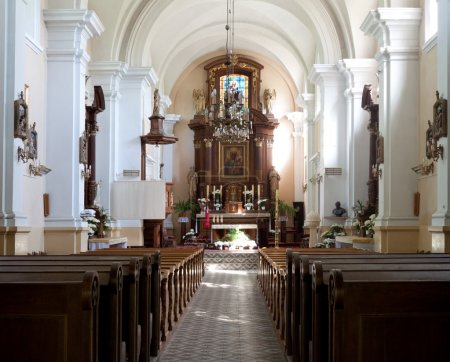 Photo for The altar of the old church - Czersk, poland - Royalty Free Image