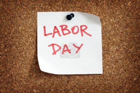 Labor day reminder