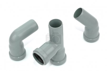 PVC fittings for water distribution and drainage