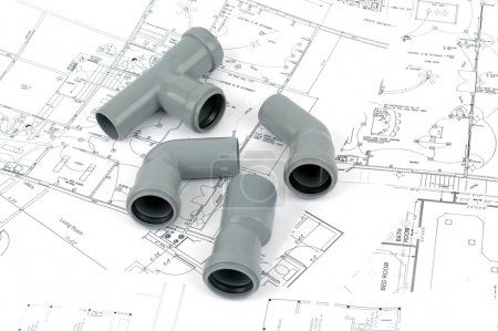 PVC fittings for drainage