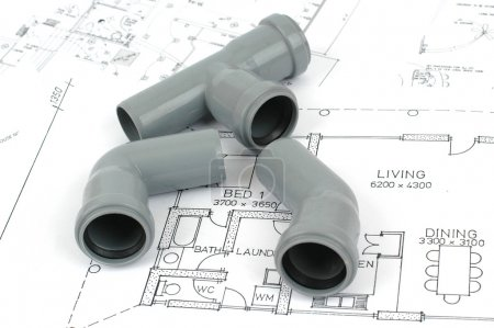 Plumbing plans and plumbing material
