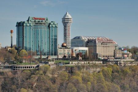 Niagara Falls Ontario Skyline
