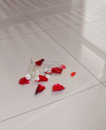 Polished gress floor