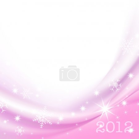 2012 Happy New Year greeting card