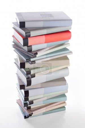 Books stack.