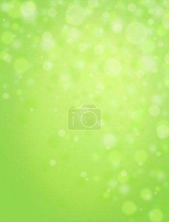 Large fun light filled green background