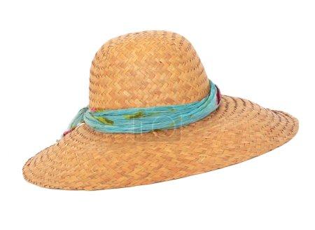 Wicker summer hat