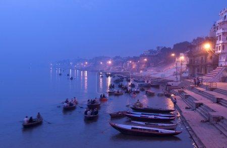 Morning on the Ganges, Varanasi, India...