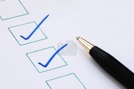 Put the check mark/tick in the boxes concepts of approval and correctness