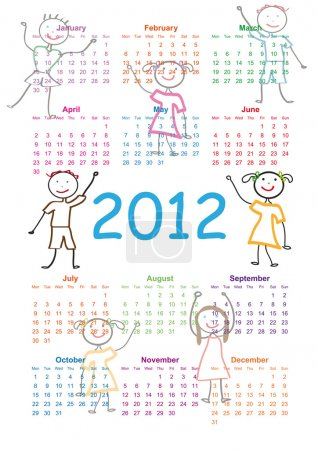 Calendar 2012