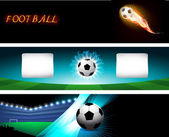 Football background, vector illustration