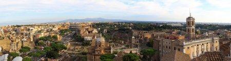 Rome colosseum view