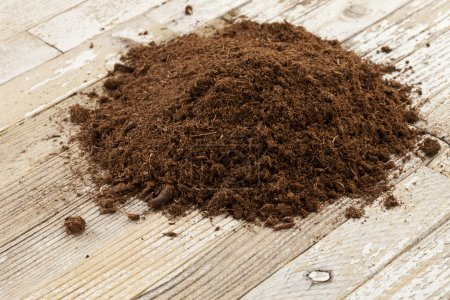Canadian sphagnum peat moss used as soil condition...