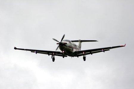 Cessna single engine before landing...