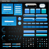 Blue Web Set