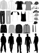 Men Dress Collection  vector work