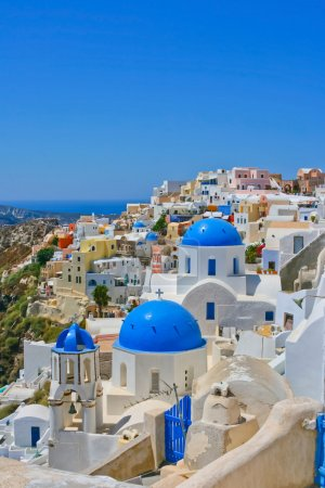 Amazing view of Oia in Santorini