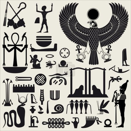 signes et symboles Egyptiens set 2