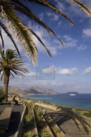 Porto Santo viewpoint