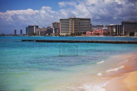 Waiikiki beach in Honolulu