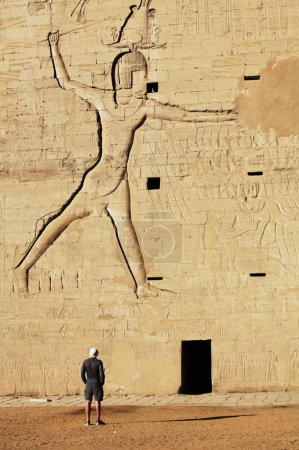 Photo for Temple of Horus in Edfu, Egypt. - Royalty Free Image