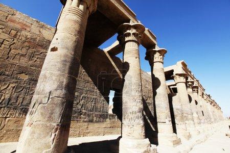 Photo pour Temple d'Horus à Edfou, Egypte . - image libre de droit