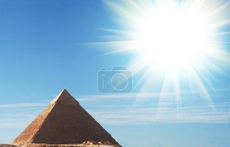 Photo pour Pyramide égyptienne - image libre de droit