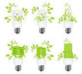 Set power saving lamps