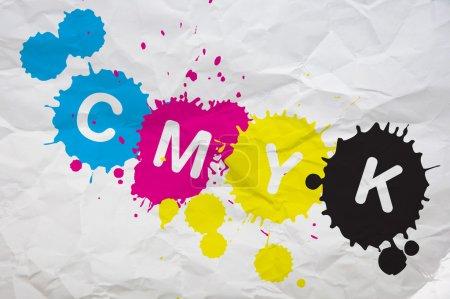 CMYK on paper