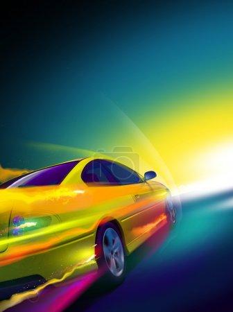 Speed car