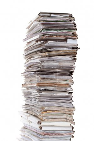 Huge stack of papers