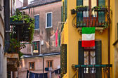 Romantic old buildings in Venice, Italy
