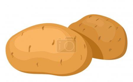 The potatoes.