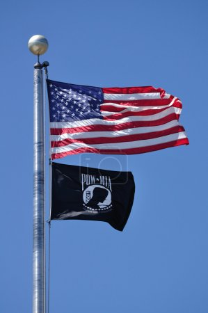 American and POW-MIA Flag