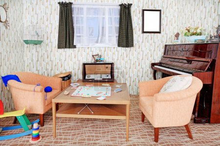 Photo pour La décoration intérieure des maisons en Europe - image libre de droit