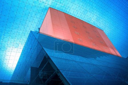 Photo for Architecture structure of a modern exhibition building - Royalty Free Image
